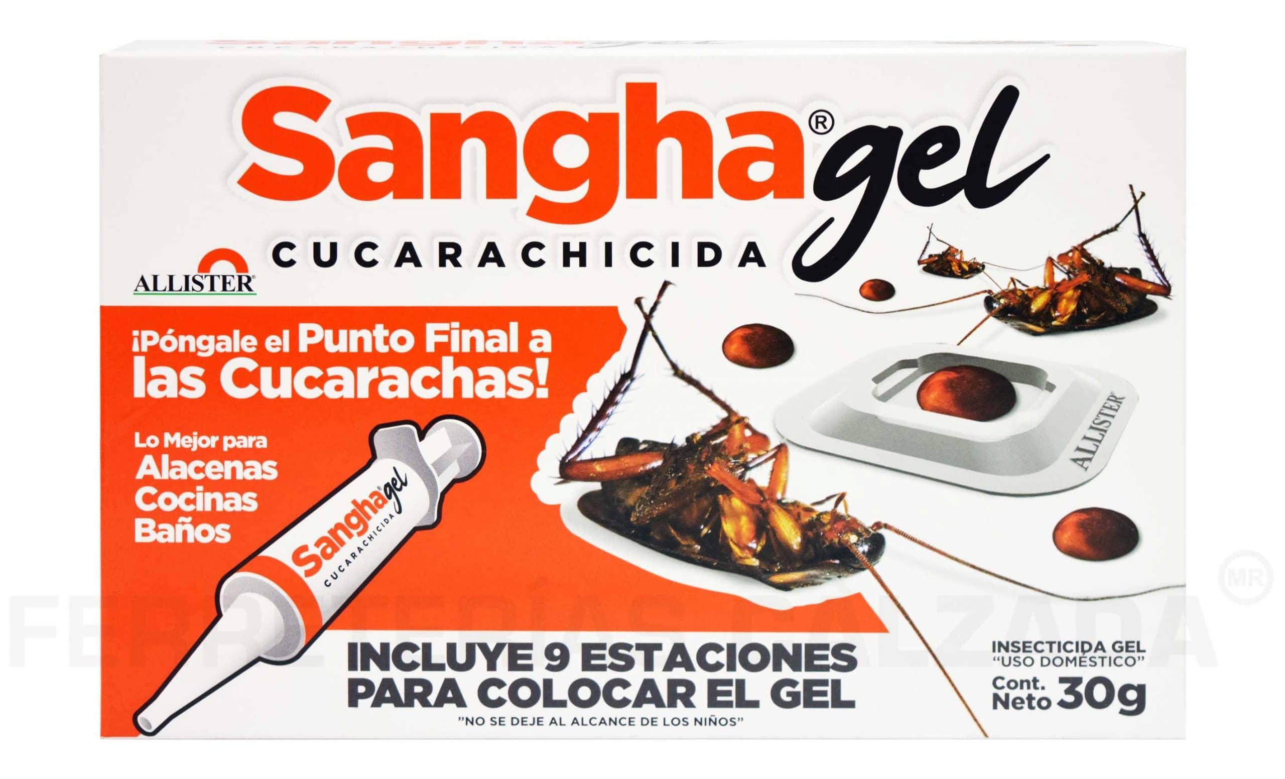 C7001551 - Cucarachicida Sangha Gel 30GR Allister Uso Domestico - Sin Clasificar