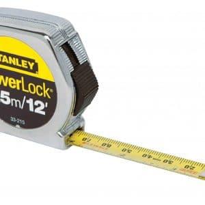 HC44254 - Flexometro 1/2 3.5M Powerlock Stanley 33-215 - STANLEY