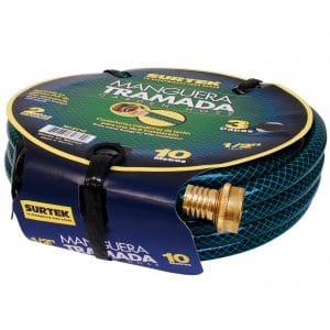 HC77746 - Manguera Tramada Conector Metalico 1/2 25M Surtek M12T25 - SURTEK