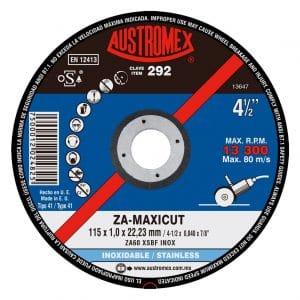 HC90893 - Disco Corte Acero Inoxidable De 4-1/2 X 0.040 X 7/8 Austromex 292 - AUSTROMEX