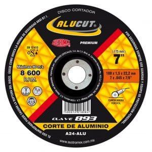 HC91770 - Disco Corte De Aluminio De 7 X .045 X 7/8 Austromex 893 - AUSTROMEX