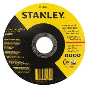 HC92152 - Disco Abrasivo De 4-1/2 X 1.6MM X 7/8 Stanley Sta8063 - STANLEY