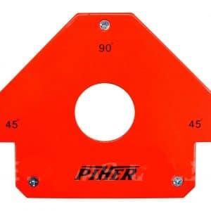HC94133 - Escuadra Magnetica 45/90 11X19.5Cm Piher Q2 - PIHER