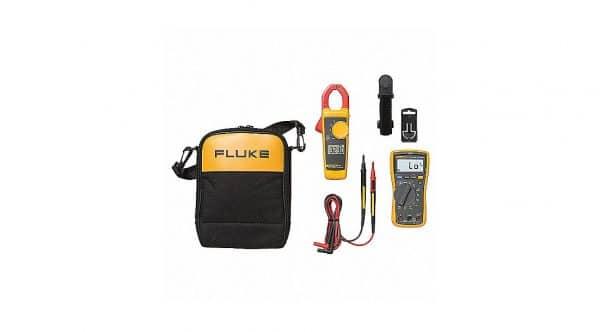 HC96604 - Jgo Multimetro 117/323 Fluke+ Amperimetro De Gancho - FLUKE