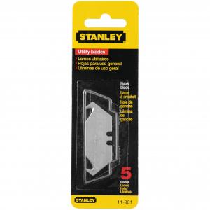 Stanley Cuchilla de Repuesto Tipo Gancho 5 Piezas 11-961