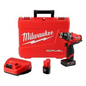 HC111321 - Taladro Rotomartillo 1/2 M12 Fuel Kit Milwaukee 2504-22 - MILWAUKEE
