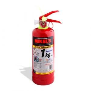HC19024 - Extintor De Emergencia Recargable 1 Kg Mikels EE-1
